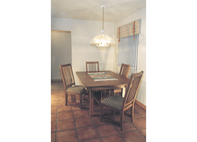 Mission Dining Table & Chairs