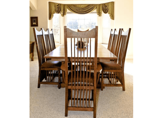 Mission Contemporary Dining Set