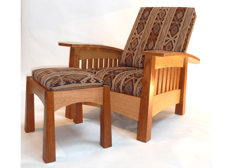 California West Bow Arm Chair