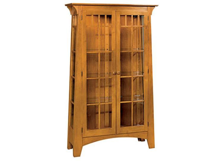 Mission Contemporary Curio Cabinet
